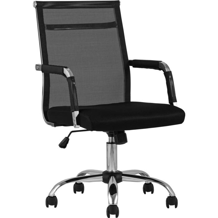 Кресло офисное TopChairs Clerk D-104 black