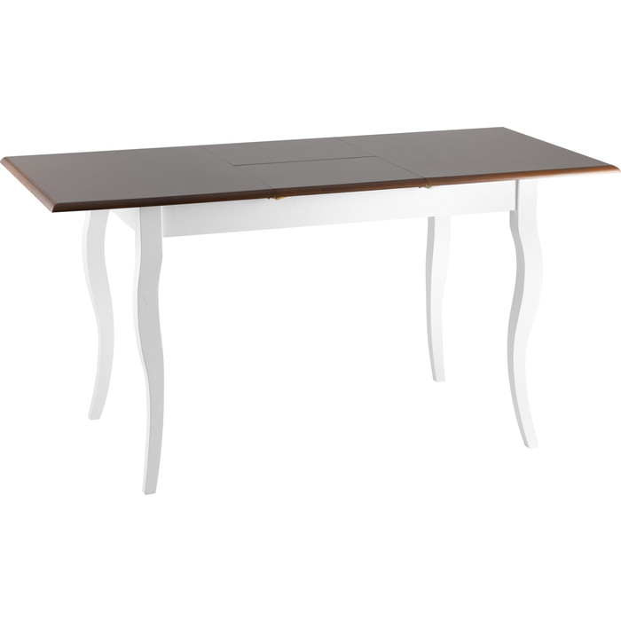 Стол обеденный Stool Group Марсель темный дуб + белый RH 7118T EXT Dirty Oak+white