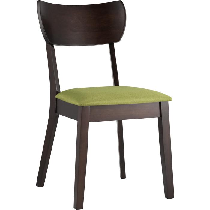 Стул обеденный Stool Group Tomas массив гевеи (эспрессо) мягкое сидение салатовое MH51755 APPLE-8 green стул подколенник green apple gast04 06 60x26х49 см