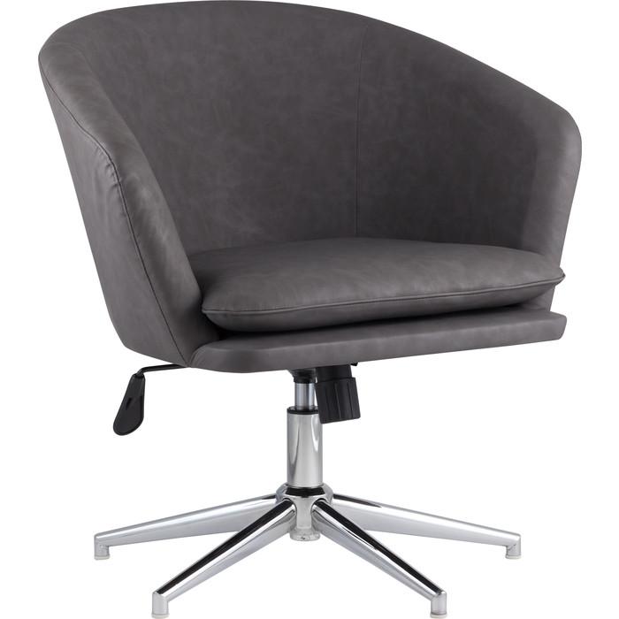 Кресло Stool Group Харис регулируемое ПУ серый Harris 15
