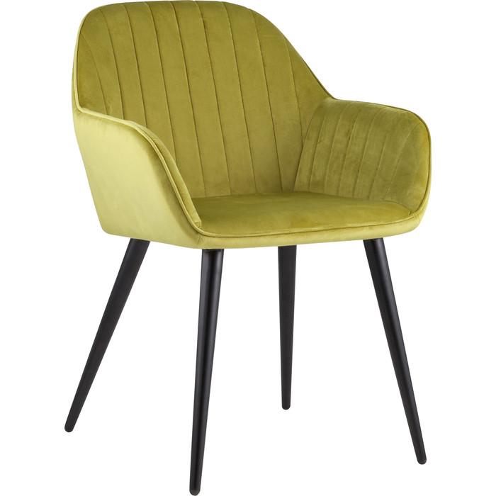 Кресло Stool Group Кристи вельвет оливковый Christy HLR-25 недорого