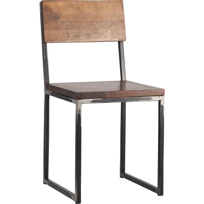 Стул Stool Group Квадрум с деревянным сиденьем и спинкой SG-ST-LOFT-D.WOOD лофт