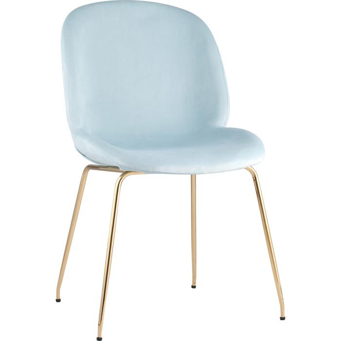 Стул Stool Group Турин бархат мятный/золотые ножки 8329 velvet light blue