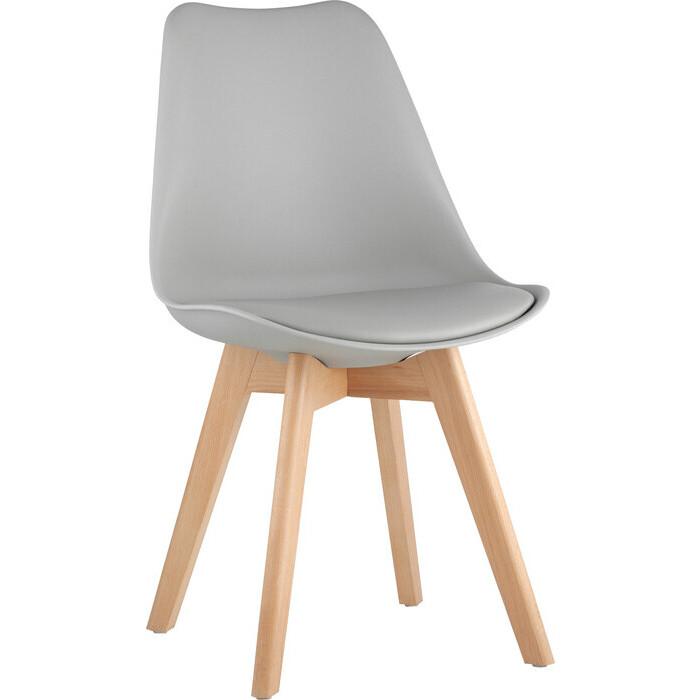 Стул Stool Group Frankfurt серый деревянные ножки Y863 grey