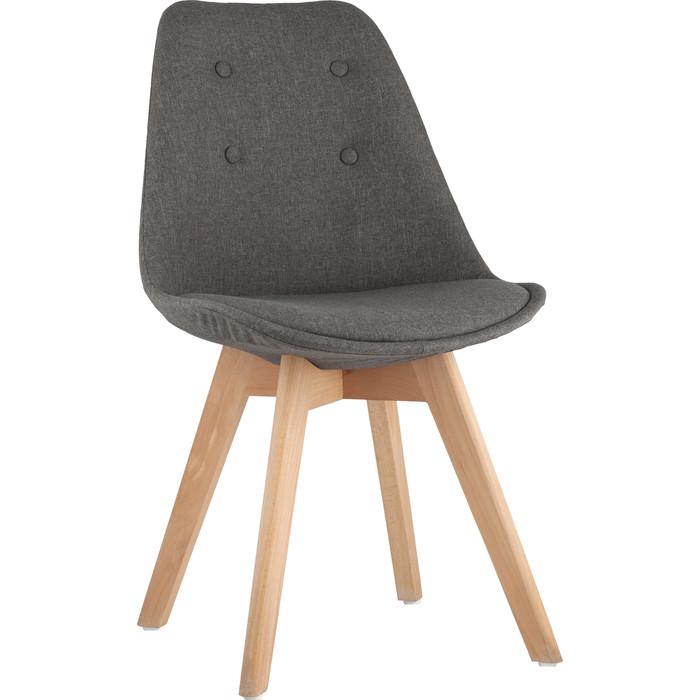 Стул Stool Group Tariq серый деревянные ножки grey