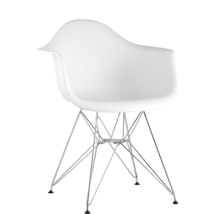 Кресло Stool Group Eames белое 8066B white seat dual