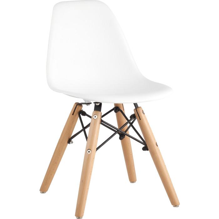 Стул Stool Group Eames small деревянные ножки 8056S white