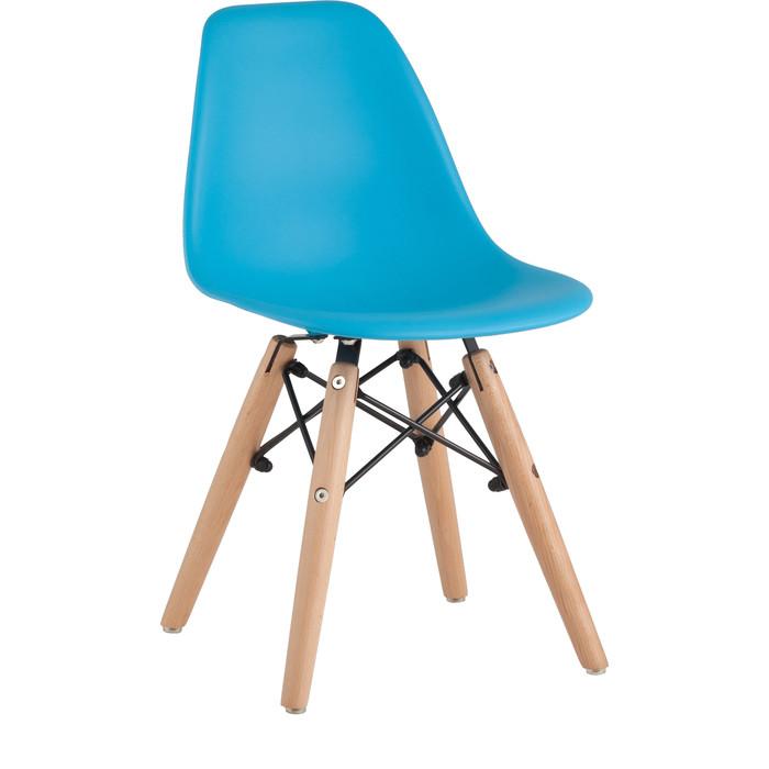 Стул Stool Group Eames small деревянные ножки 8056S blue