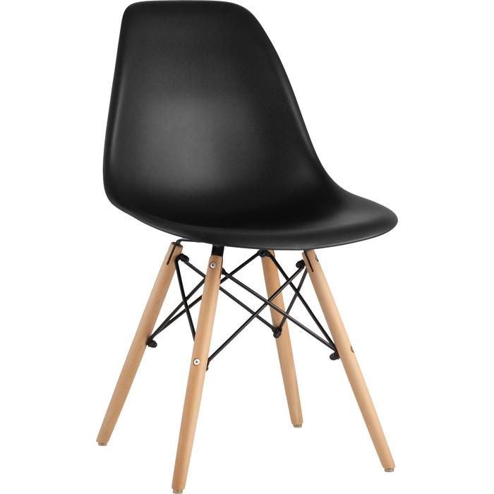 Стул Stool Group Eames деревянные ножки 8056PP black