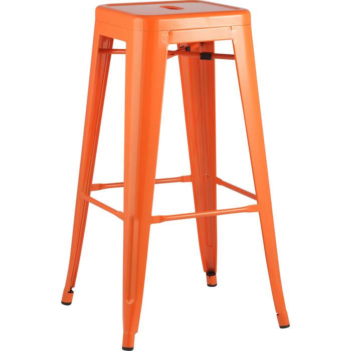 Стул барный Stool Group Tolix оранжевый глянцевый YD-H765 LG-05