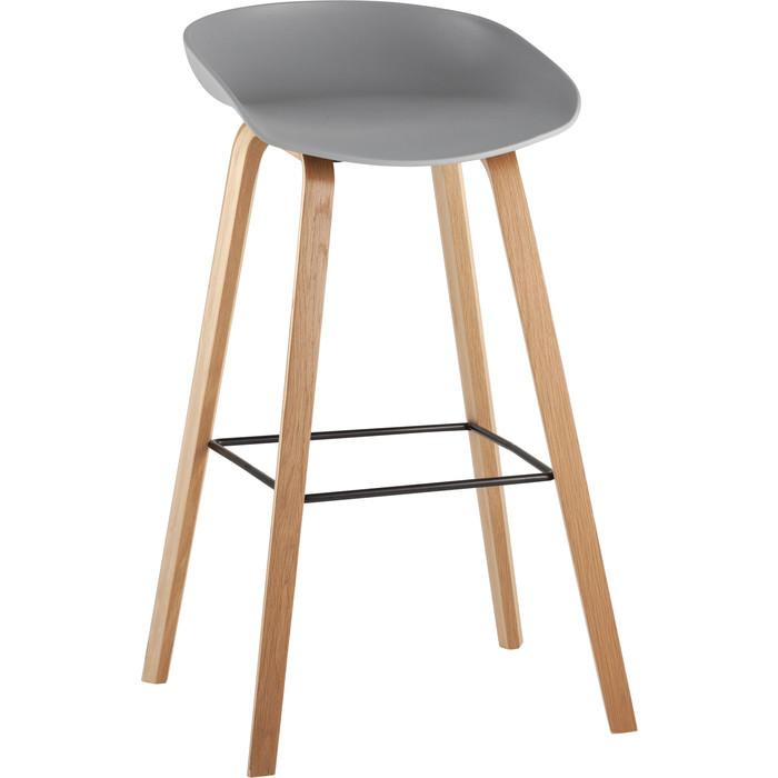 Стул барный Stool Group Libra деревянные ножки 8319 grey
