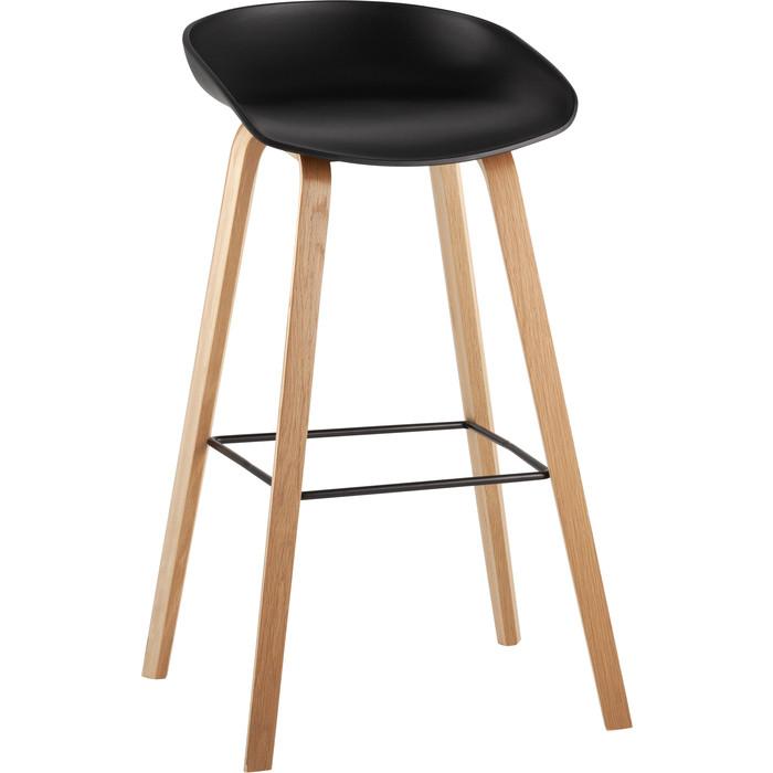 Стул барный Stool Group Libra деревянные ножки 8319 black