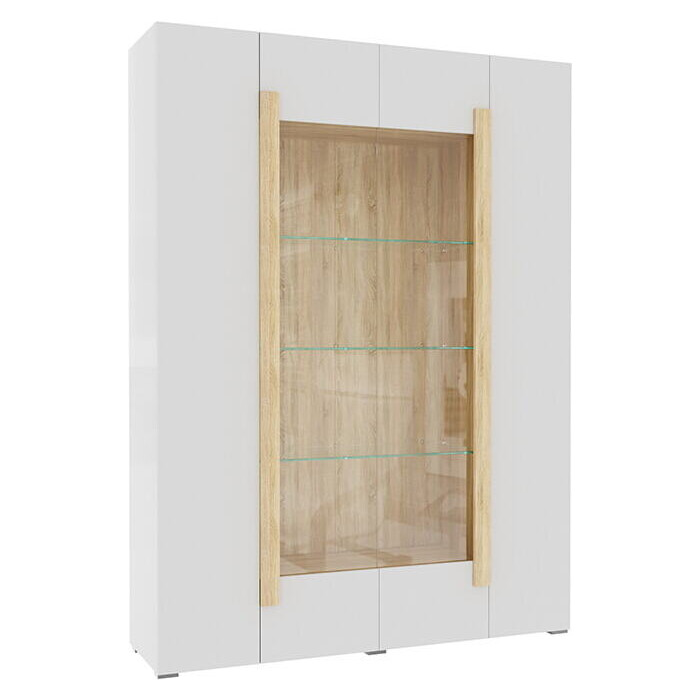 Фото - Витрина 4-х дверная Принцесса Мелания Куба 1715.М3 витрина шкаф витрина 4 х дверная куба куба