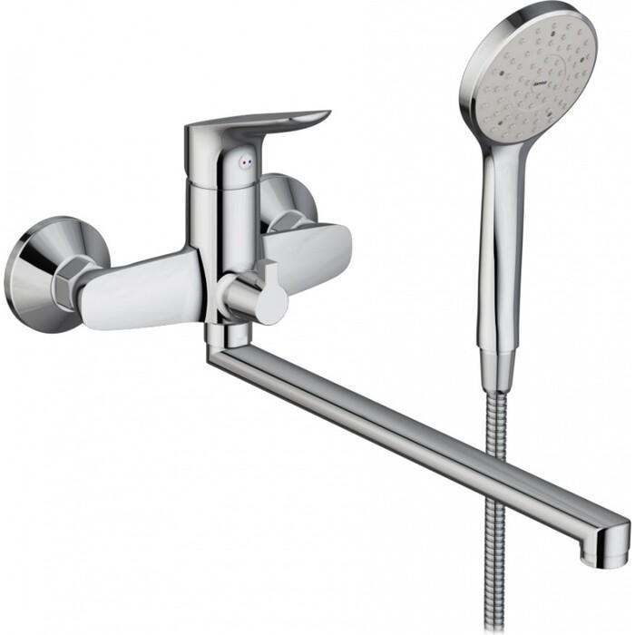 Смеситель для ванны Damixa Origin Bit универсальный с душем (779500000)