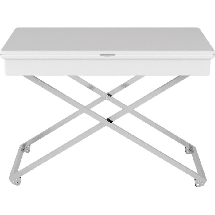Стол универсальный трансформируемый Калифорния мебель Андрэ Менсола белый