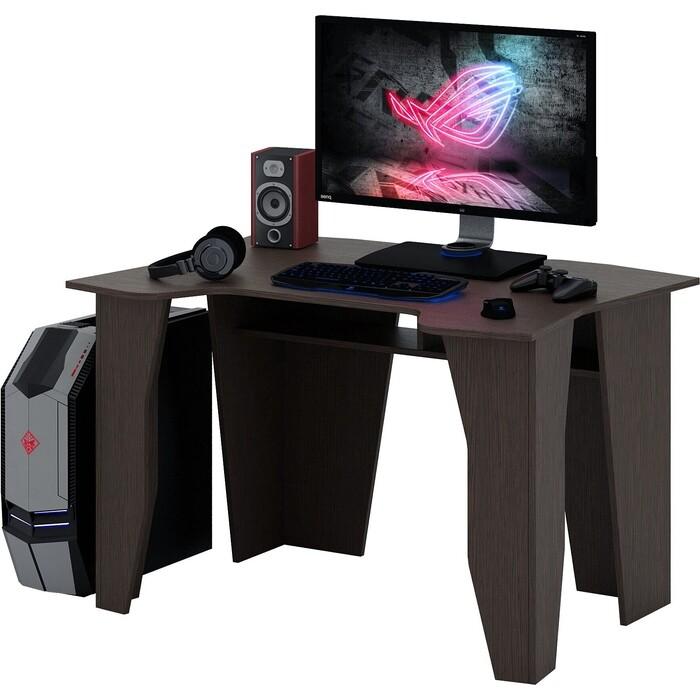 Стол компьютерный Мастер Страйкер-1 венге МСТ-СИС-01-ВМ-16