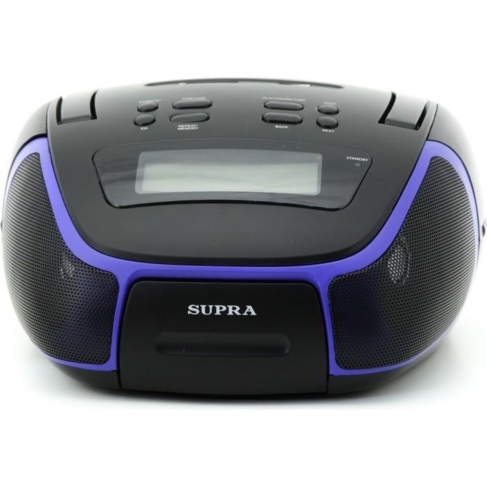 Фото - Аудиомагнитола Supra BB-23MUS аудиомагнитола supra bts 655 черный