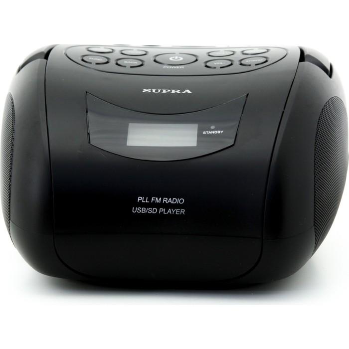 Фото - Аудиомагнитола Supra BB-24MUS аудиомагнитола supra bts 655 черный