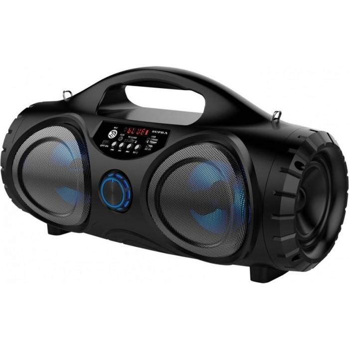 Фото - Аудиомагнитола Supra BTS-880 аудиомагнитола supra bts 655 черный