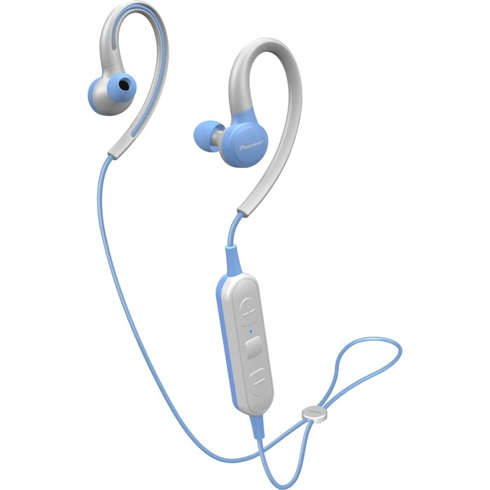 Наушники Pioneer SE-E6BT-L blue/grey