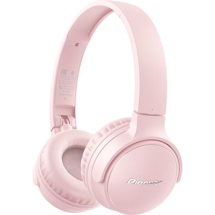 Наушники Pioneer SE-S3BT-P pink наушники pioneer se ql2t p