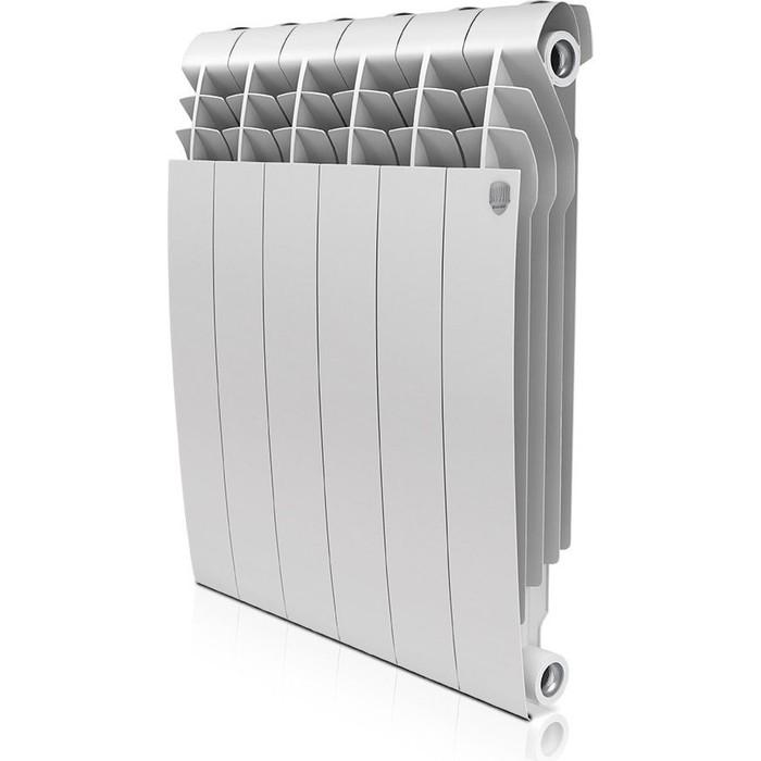 Радиатор отопления ROYAL Thermo BiLiner 500 биметаллический, 6 секций, bianco traffico (RTBBT50006)
