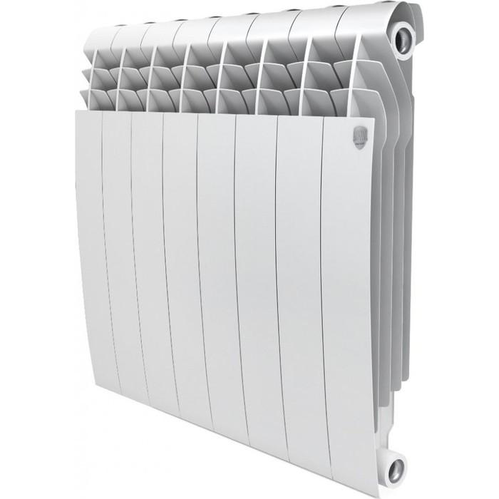 Радиатор отопления ROYAL Thermo BiLiner 500 биметаллический, 8 секций, bianco traffico (RTBBT50008)