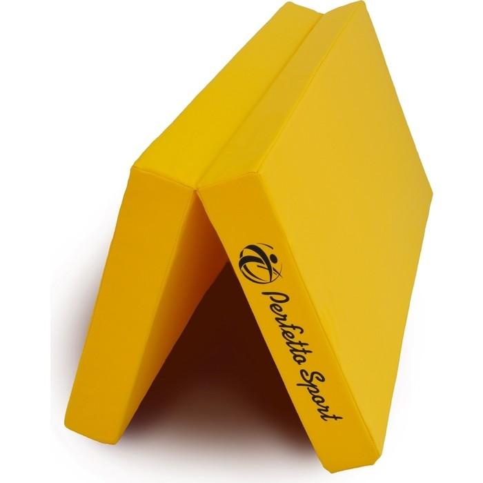 Мат PERFETTO SPORT № 10 (100 х 150 10) складной жёлтый
