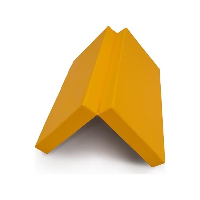 Мат КМС № 10 (100 x 150 10) складной жёлтый