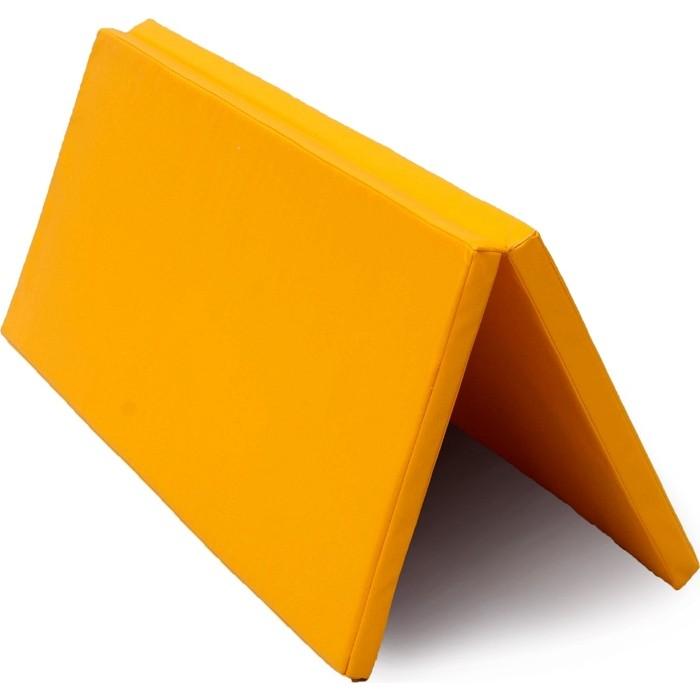 Мат PERFETTO SPORT № 14 (100 х 123 4) складной жёлтый
