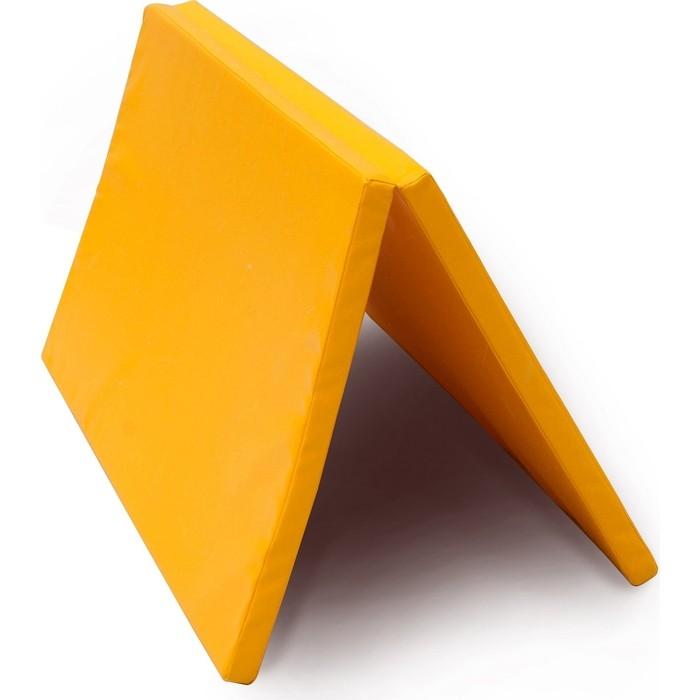 Мат PERFETTO SPORT № 16 (135 х 123 4) складной жёлтый
