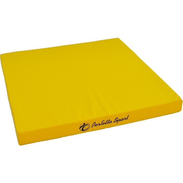 Мат PERFETTO SPORT № 2 (100 х 100 10) жёлтый