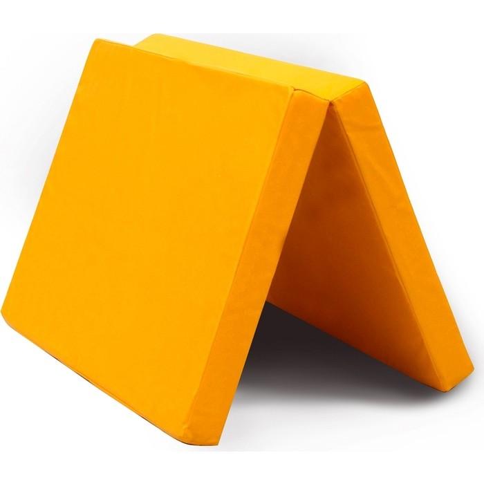 Мат КМС № 8 (100 x 200 10) складной жёлтый