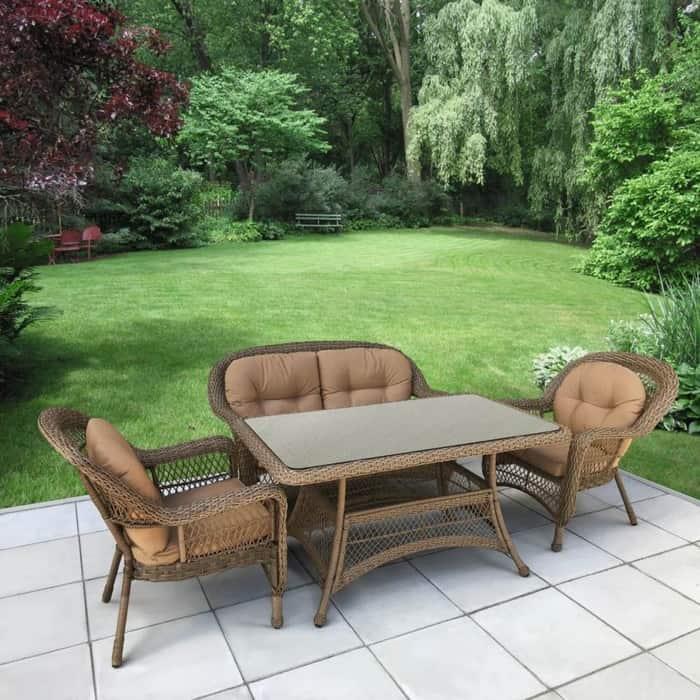 Комплект Afina garden T130Bg/LV520BB beige/beige