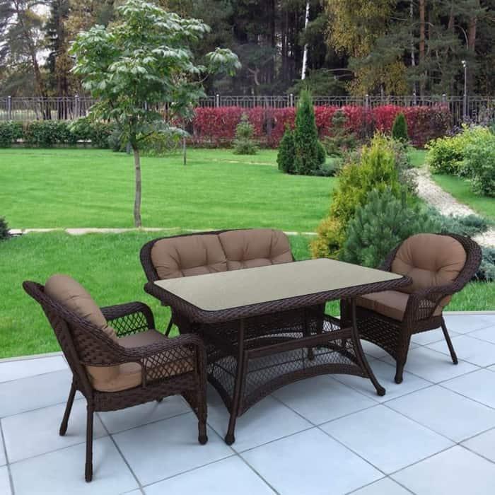 Комплект Afina garden T130Br/LV520BB brown/beige
