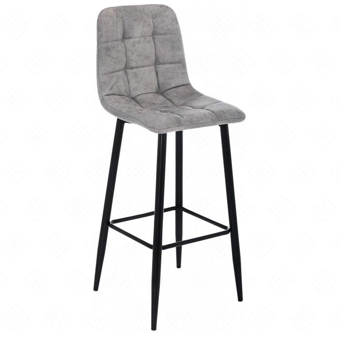 Барный стул Woodville Chio black/grey