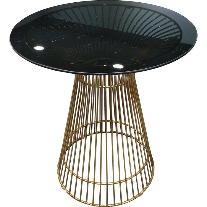 Стол TetChair Argo (mod. DT1471 ) металл/стекло черный/золотой гальваник стол tetchair brugge mod edt ve001 120 150х80х75 см
