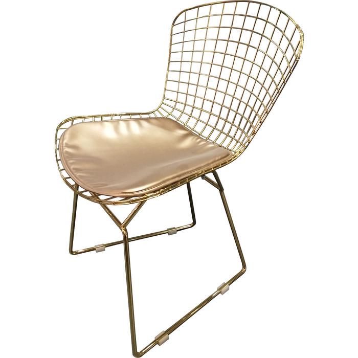 Стул TetChair Bazalt с подушкой (mod. DC5079) металл золотой гальваник