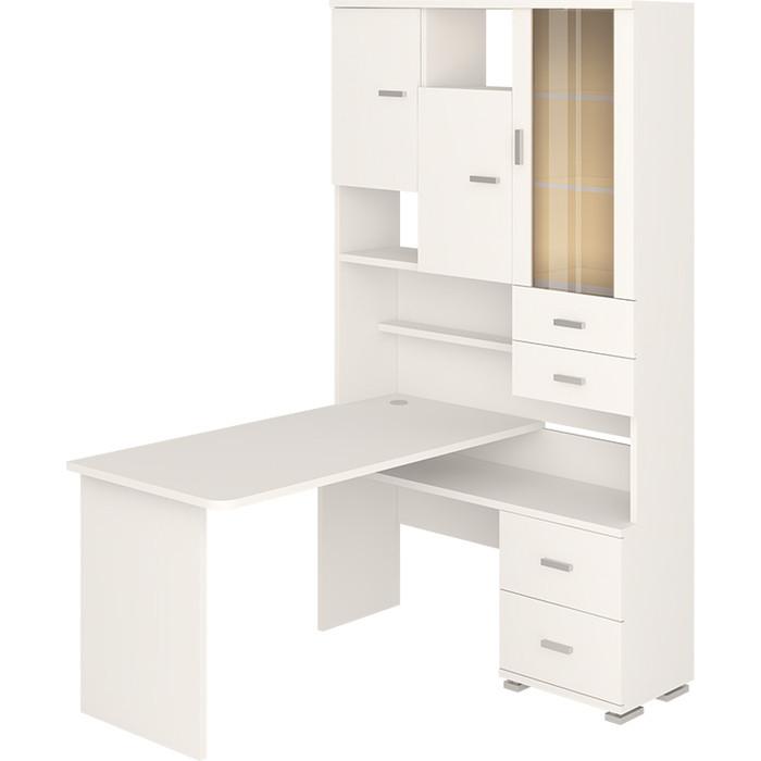 Фото - Стол компьютерный МЭРДЭС СР-620/140 БЕ-ПРАВ белый стол компьютерный мэрдэс ср 132 бе прав белый
