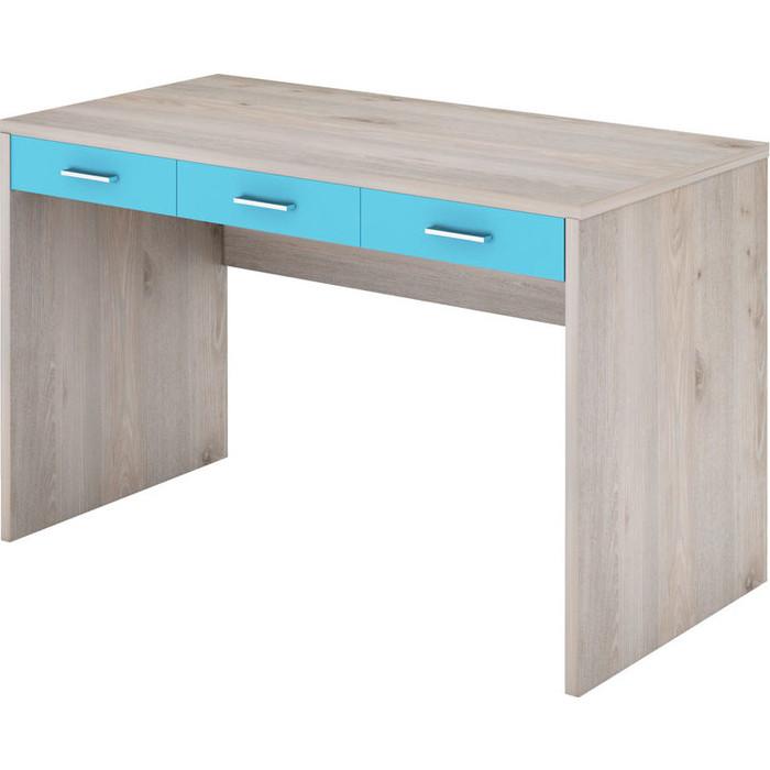 Стол компьютерный МЭРДЭС СП-32С НСИ нельсон/синий компьютерный стол мэрдэс домино нельсон сп 32с шхг 120х68 см цвет нельсон