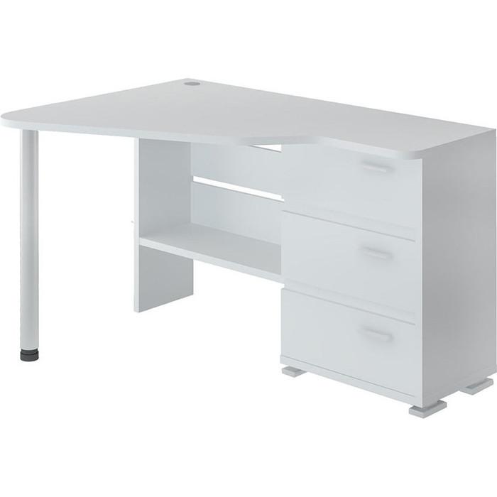 Фото - Стол компьютерный МЭРДЭС СР-322С БЕ-ЛЕВ белый стол компьютерный мэрдэс ср 132 бе прав белый