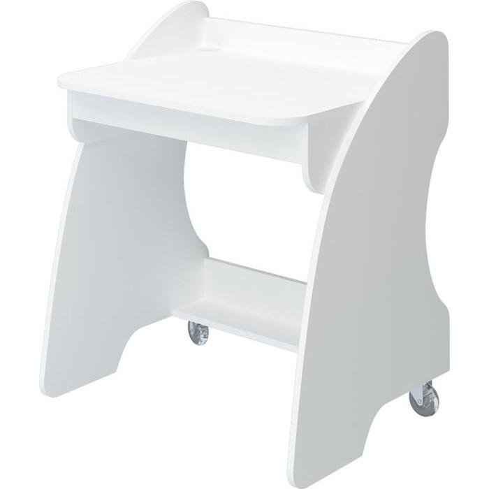 Фото - Стол компьютерный МЭРДЭС СК-13 БЕ белый компьютерный стол мэрдэс живой дизайн ск 10 шхг 89х62 см цвет карамель