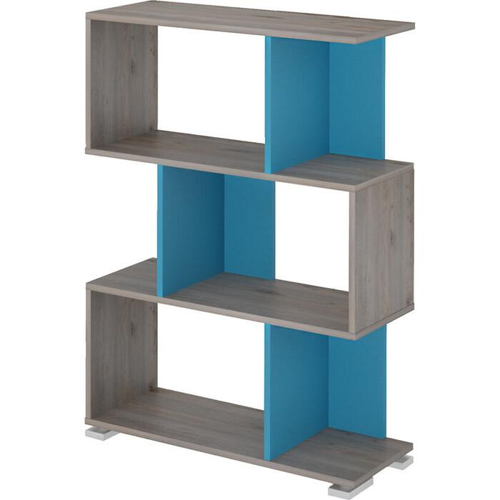 Cтеллаж МЭРДЭС СЛ-5-3 НСИ нельсон/синий