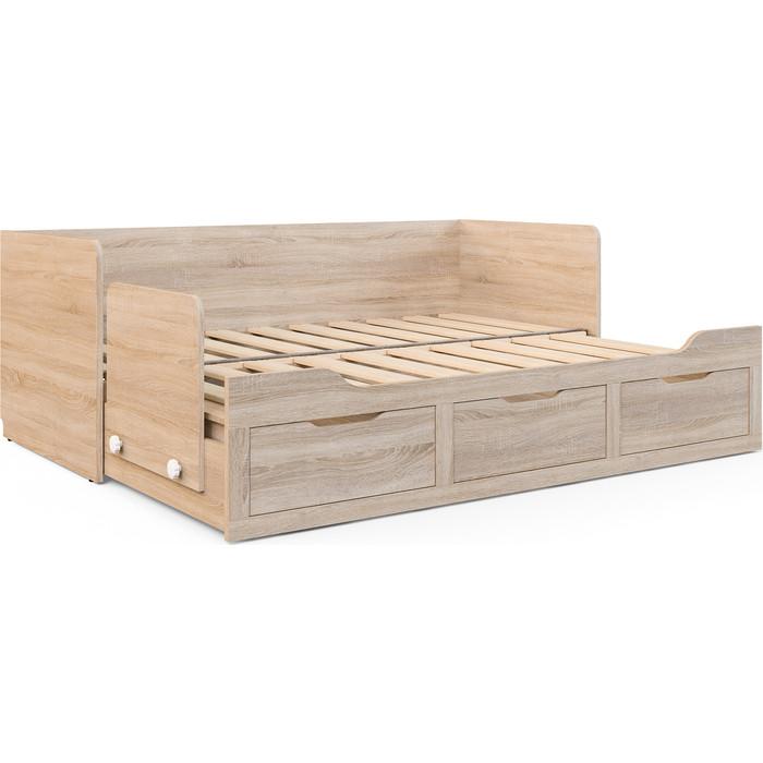 СКАНД-МЕБЕЛЬ Кровать КШ-06 (Шервуд-06) сканд мебель тумба прикроватная шервуд 3 4