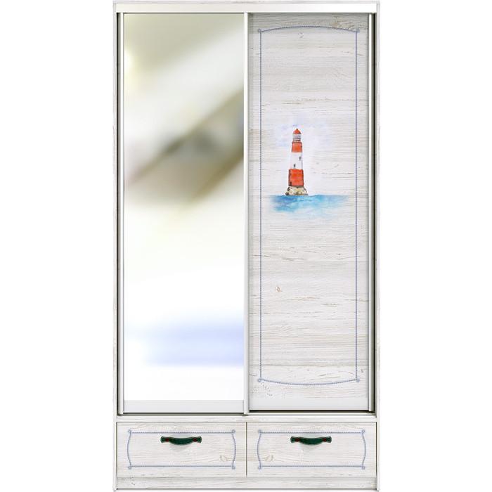 Шкаф-купе СКАНД-МЕБЕЛЬ Регата 2-1 шкаф сканд мебель регата 5