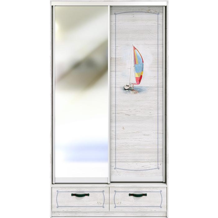 Шкаф-купе СКАНД-МЕБЕЛЬ Регата 2-2 шкаф сканд мебель регата 5