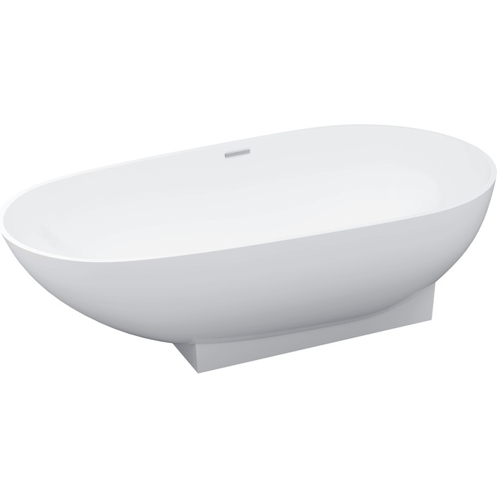 Ванна из литого мрамора Цвет и Стиль Техно 180x90 (НФ-00005782)