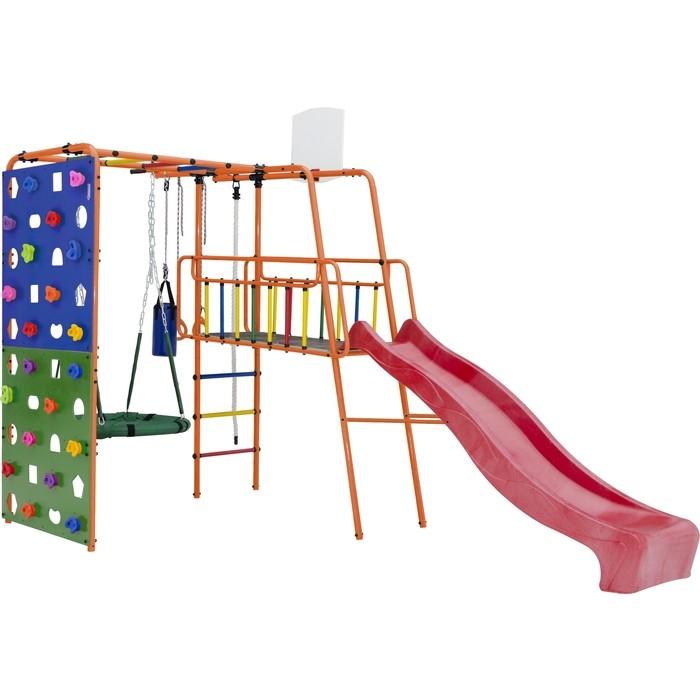 Фото - Детский спортивный комплекс Формула здоровья Street 3 оранжевый радуга детский спортивный комплекс формула здоровья street 1 белый радуга