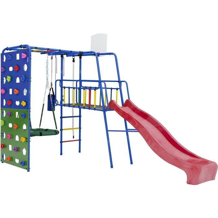 Детский спортивный комплекс Формула здоровья Street 3 синий радуга