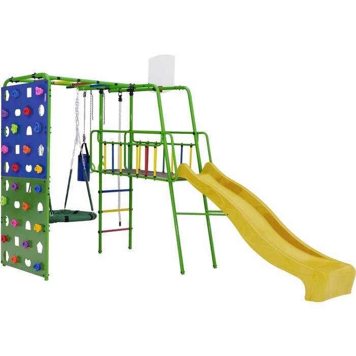 Фото - Детский спортивный комплекс Формула здоровья Street 3 салатовый радуга детский спортивный комплекс формула здоровья street 1 белый радуга